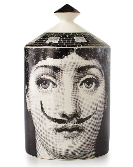 Fornasetti Moustache Single-Wick Scented Candle