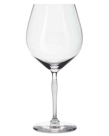 100 Points Burgundy Glass