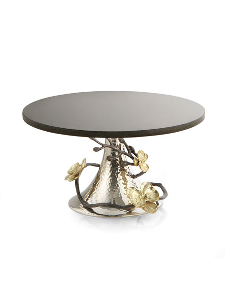 Michael Aram Gold Orchid Cake Stand
