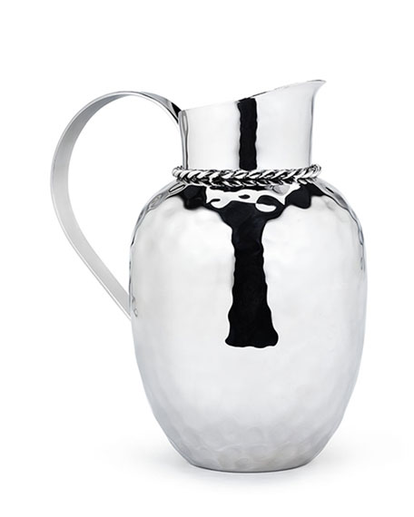 """Paloma 9.5"""" Pitcher with Braided Wire"""