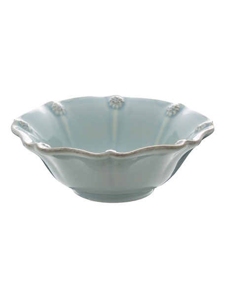Ice Blue Berry & Thread Berry Bowl