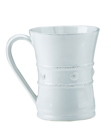 Juliska Berry & Thread White Coffee Mug