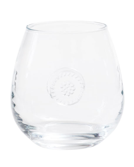 Juliska Berry & Thread Stemless Red Wine Glass