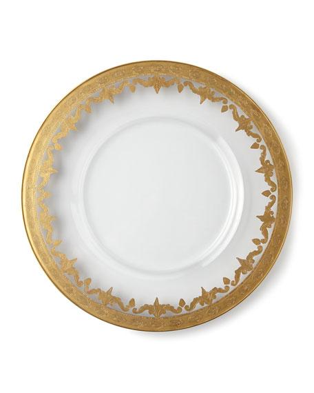 Vetro Gold Salad/Dessert Plate
