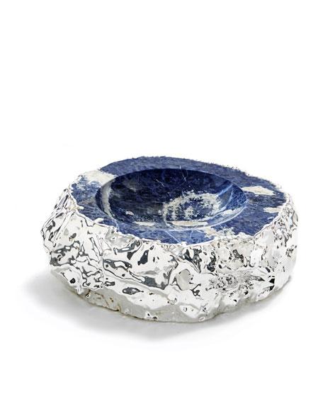 Cascita Indigo & Silver Bowl