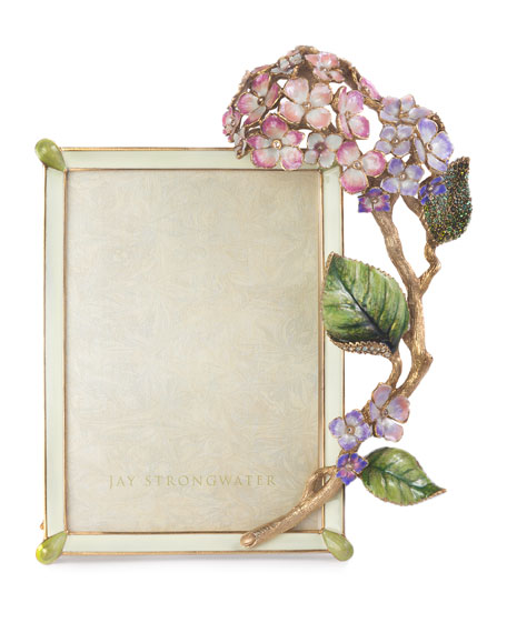 Jay Strongwater Gail Hydrangea Frame, 5