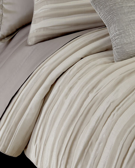 Donna Karan Home King Tidal Duvet Cover