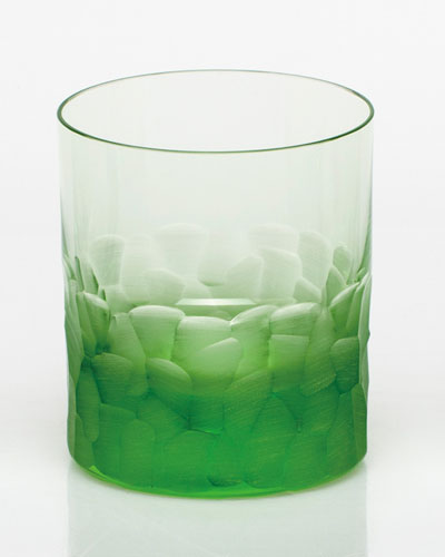 Pebbles Green Double Old-Fashioned
