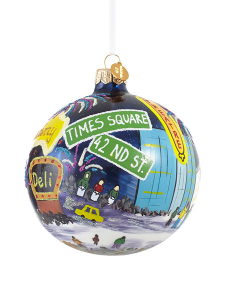Time Square Ball Christmas Ornament