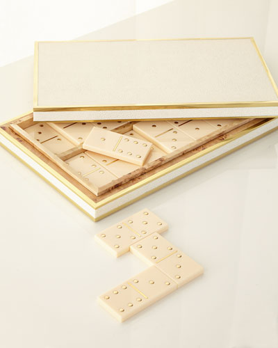 Shagreen Domino Set