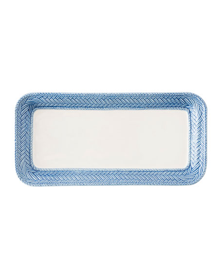 Juliska Le Panier White/Delft Blue Hostess Tray