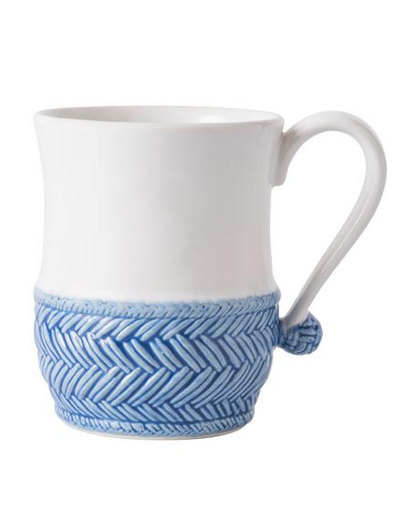 Juliska Le Panier White/Delft Blue Mug