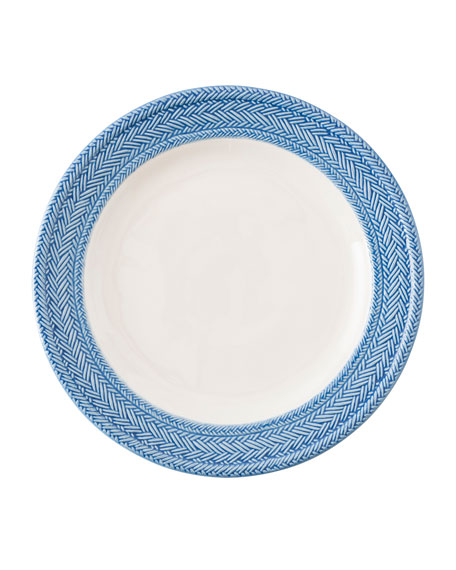 Juliska Le Panier White/Delft Blue Dinner Plate