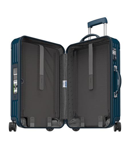 "Salsa Deluxe Electronic Tag Yachting Blue 26"" Multiwheel  Luggage"