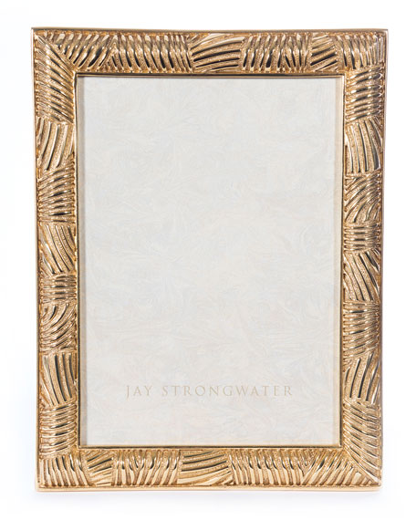 """Striped Picture Frame, 5"""" x 7"""""""