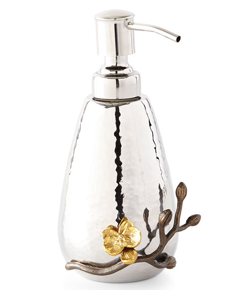 Gold Orchid Pump Dispenser