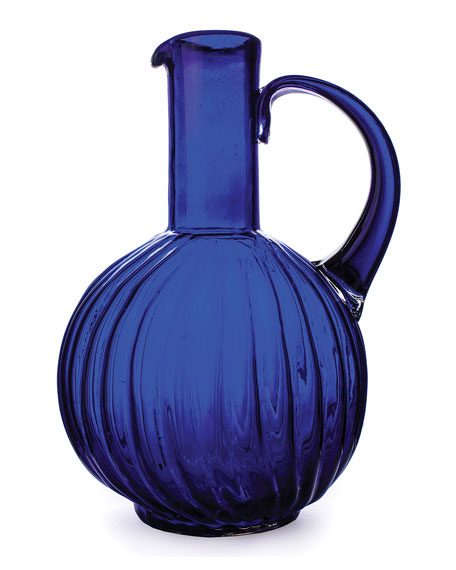 Jarron San Juana Blue Pitcher