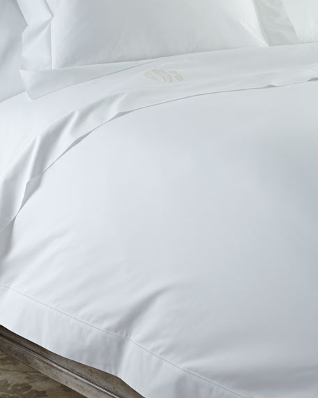 Matouk Full/Queen Key Largo Duvet Cover