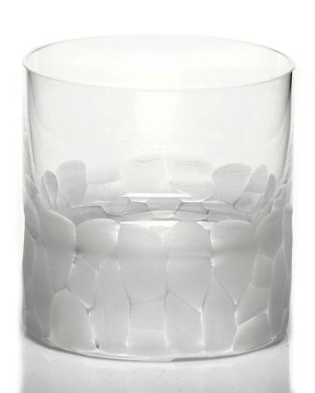 Pebble Single Old-Fashioned, Clear