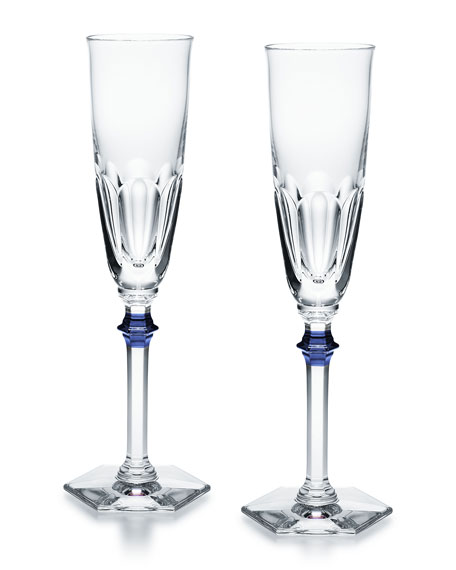 Baccarat Set of Two Harcourt Eve Flutes