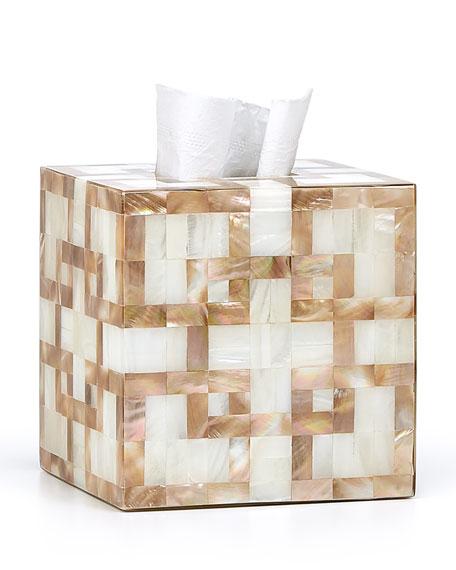 Parquet Tissue Box Cover