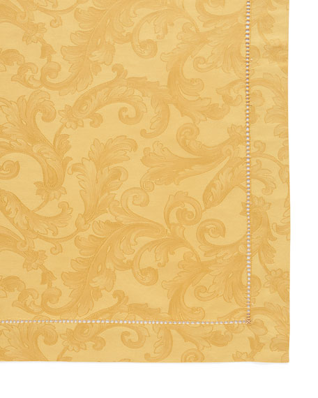 "Plume Jacquard 70"" x 90"" Tablecloth"