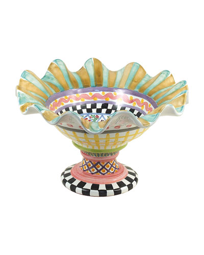 Taylor Fluted Compote