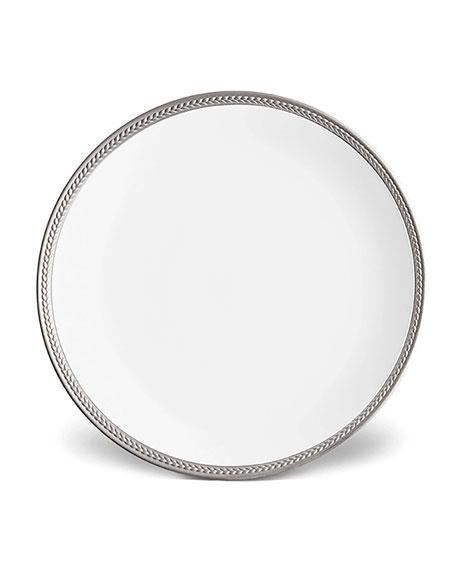 L'Objet Soie Tressee Dinner Plate