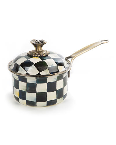 Courtly Check 1-Quart Saucepan