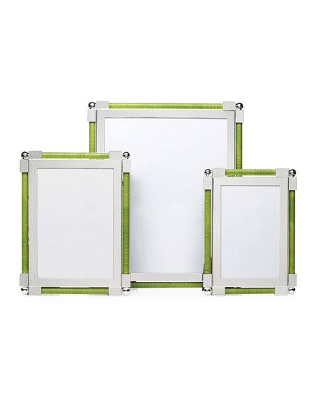 Shagreen 8x10 Frame, Lime Green