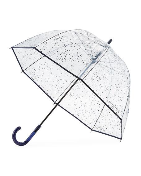 Transparent Moustache Bubble Umbrella