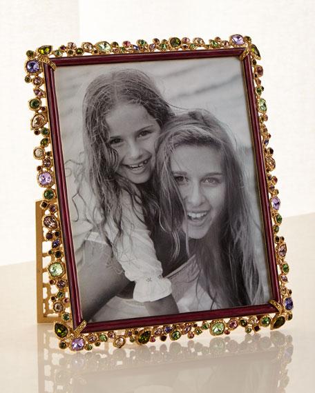 "Bejeweled Frame Brocade, 8"" x 10"""