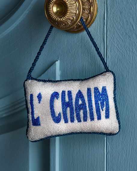 Sudha Pennathur L'chaim Door Knocker