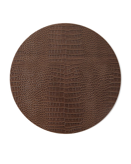 Kim Seybert Everglade Placemat, Brown