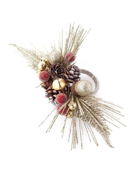 Kim Seybert Pine Branch Napkin Ring