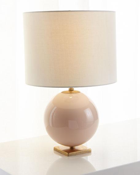 Elsie Reverse Painted Globe Table Lamp