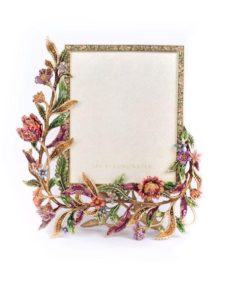 Jay Strongwater Regina Floral & Vine Frame, 8