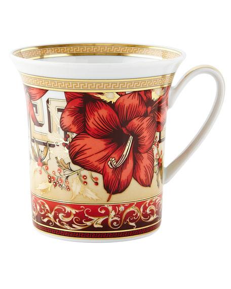 Christmas Blooms Mug