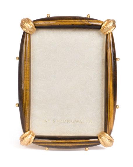 "Angelo Tiger Eye Frame, 5"" x 7"""