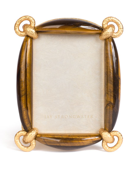 "Blaine Tiger Eye Frame, 3"" x 5"""