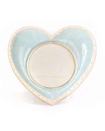 Chantal Heart Frame, Blue