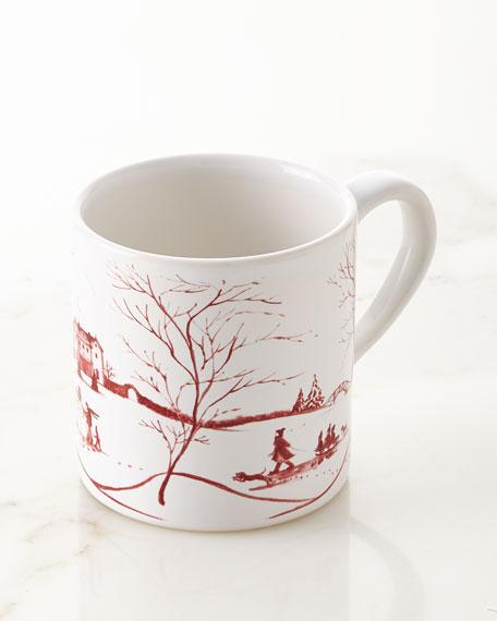 Country Estate Winter Frolic Mug