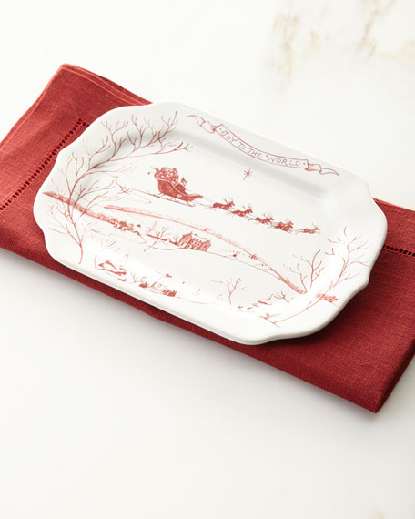 Juliska Country Estate Winter Frolic Tray