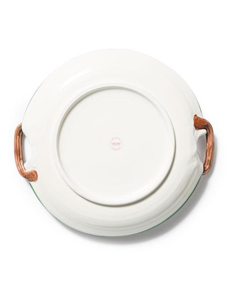 Limited Edition Old Saint Nick Round Platter