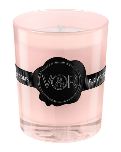Limited Edition Flowerbomb Scented Candle, .8 oz./ 165 g