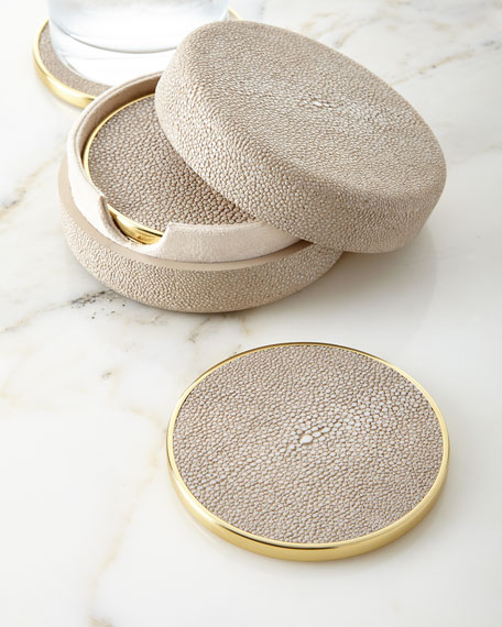 Shagreen Coasters