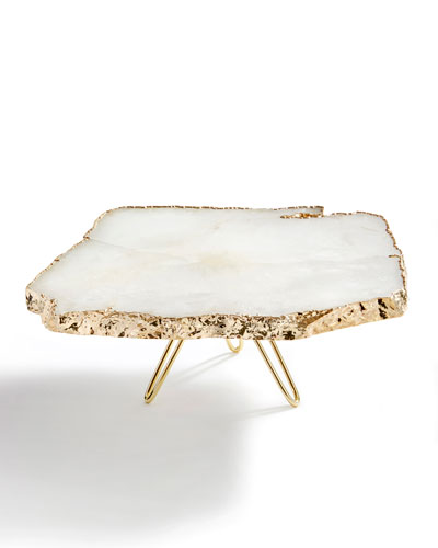 Torta Gold-Plated Cake Stand
