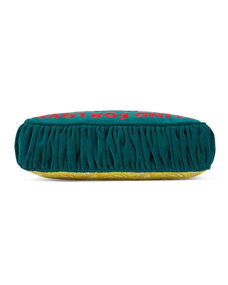 Blind for Love Velvet Cushion