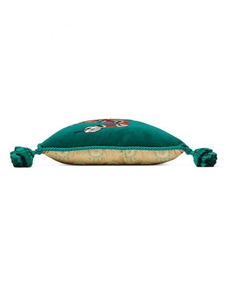Snake Velvet Cushion