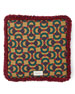 Square Velvet Kingsnake Cushion